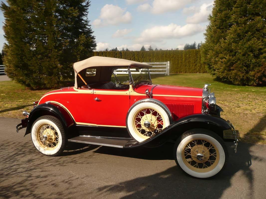classic car restoration - 1931 ford model a1