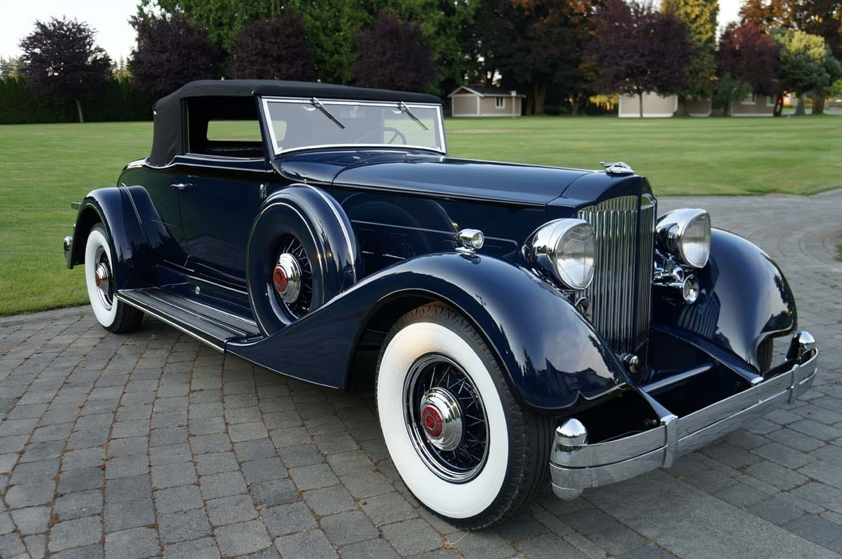1934 packard classic car restoration
