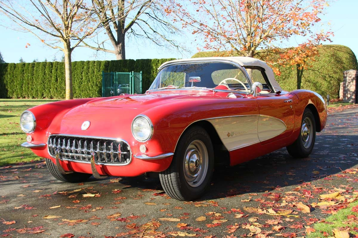 1957 chevy corvette restoration