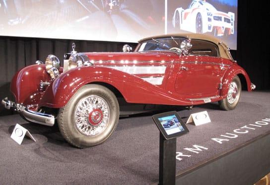 classic car auction representation