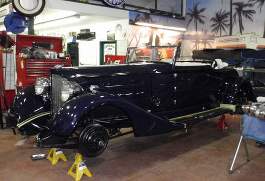 classic car repair services