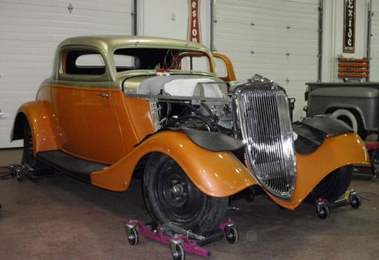 classic vehicle restoration services