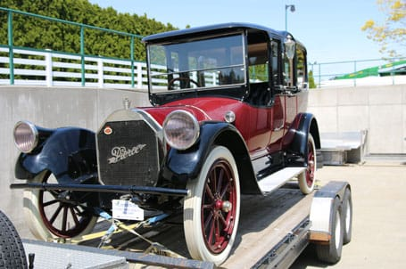 1915 Pierce Arrow Front View- Vintage Rod Shop