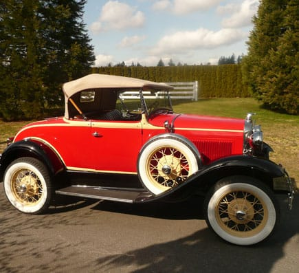 1931 Ford Model a Hotspot Side View - Vintage Rod Shop