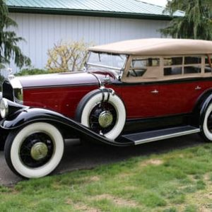 1931 Pierce Arrow Model 43 For Sale - Vintage Rod Shop