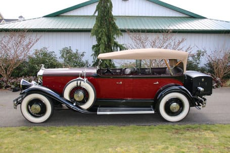 1931 Pierce Arrow Side View - Vintage Rod Shop