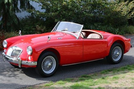 1958 MGA Featured - Vintage Rod Shop