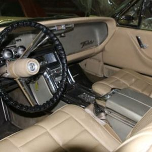 1966 Ford Thunderbird Featured Interior - Vintage Rod Shop
