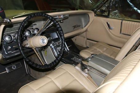 1966 Ford Thunderbird Featured Interior - Vintage Rod Shop
