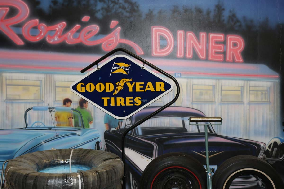 good year tires signage