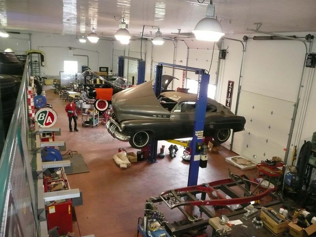 restoring vintage cars