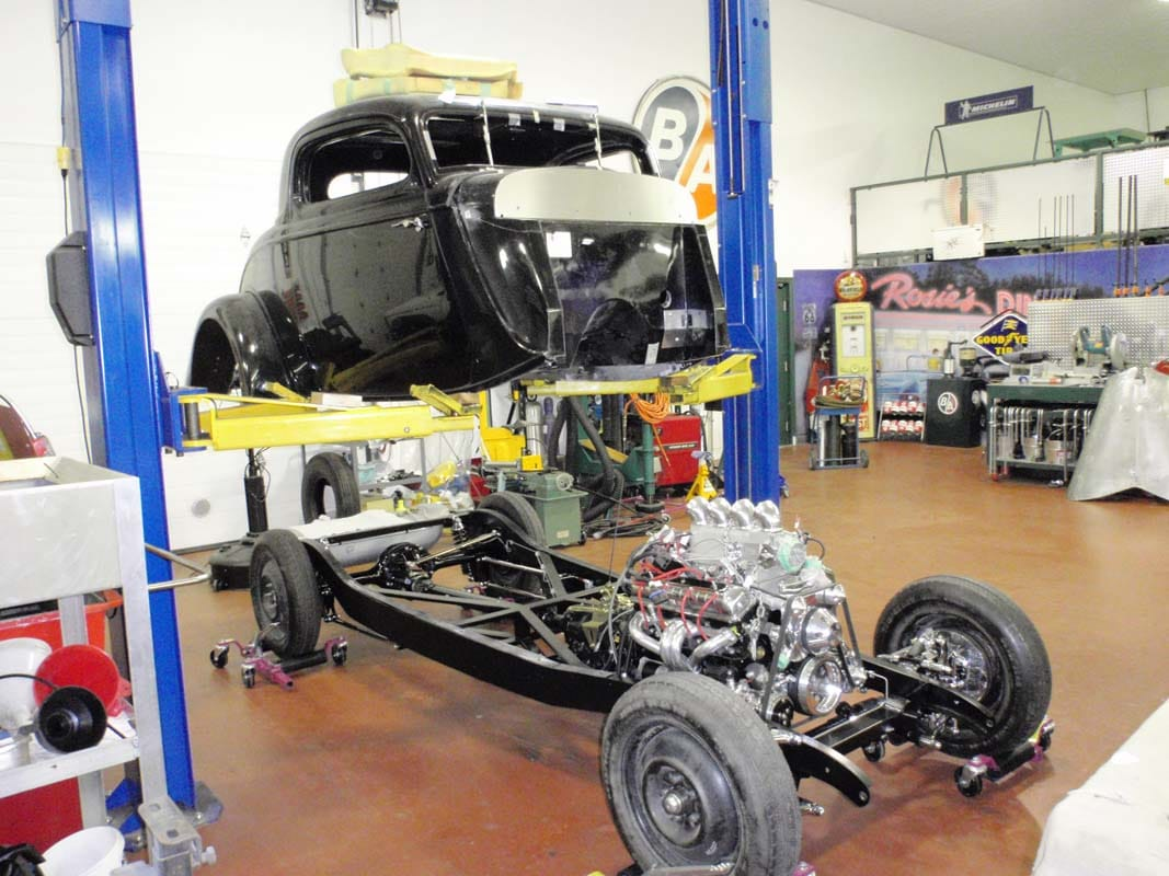 hot rod rebuild