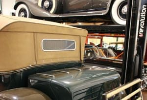 vehicle storage for classic cars