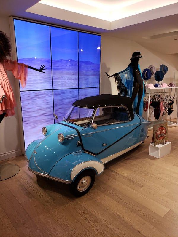 Back Side - 1957 Messerschmitt - Vintage Rod Shop