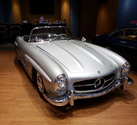 Front Side -1957 Mercedes 300sl - Vintage Rod Shop
