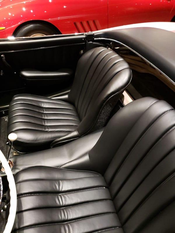 Seat Image -1957 Mercedes 300sl - Vintage Rod Shop