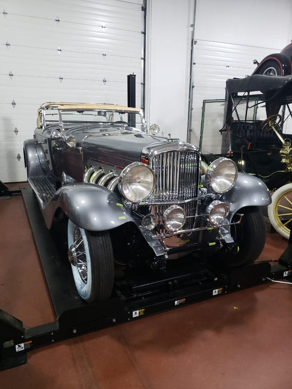 Front Side - 1935 Duesenberg - Vintage Rod Shop