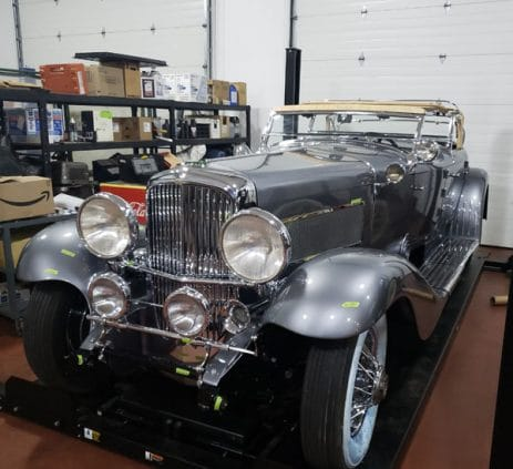 Front View - 1935 Duesenberg - Vintage Rod Shop