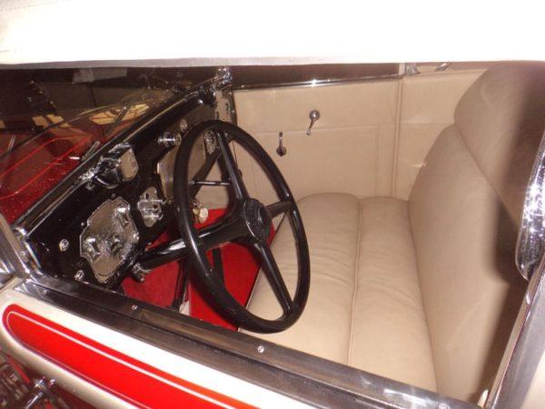 Interior Design - 1930 L29 Cord Convertible Coupe - Vintage Rod Shop