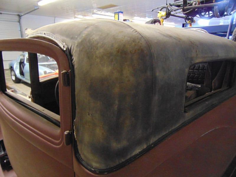 Back View - 1931 Auburn Coupe - Vintage Rod Shop