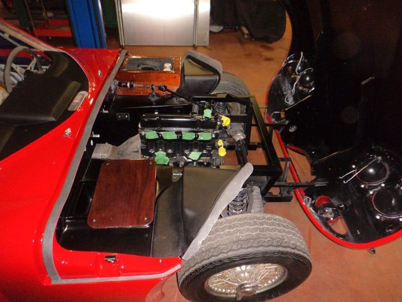 Back Engine - 1968 Marcos - Vintage Rod Shop