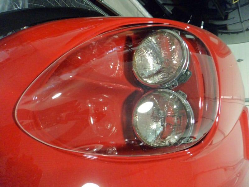Car light front view - 1968 Marcos - Vintage Rod Shop