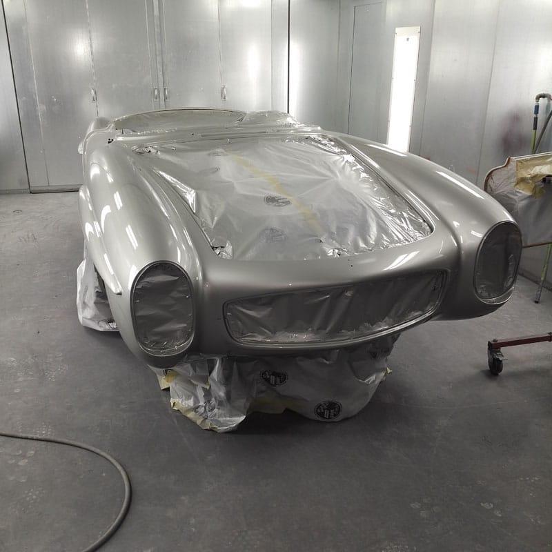 Classic car body