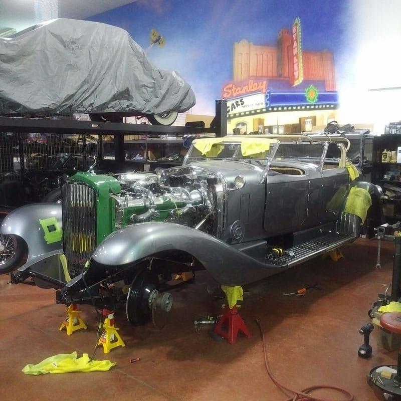 Car restoration project