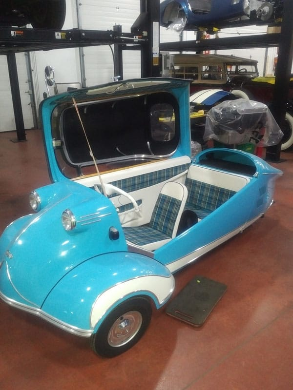 Back Side - 1957 Messerschmitt - Vintage Rod Shop