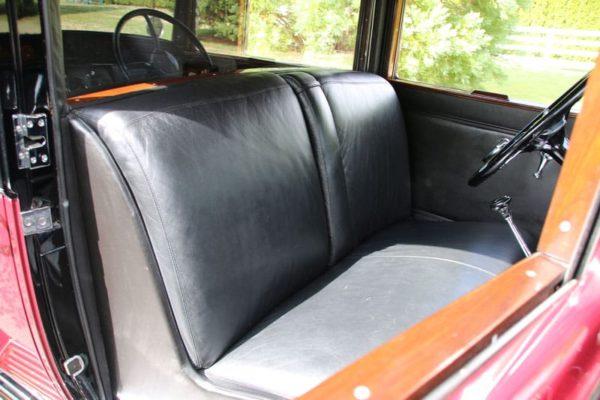 1931 Cadillac V16 interior