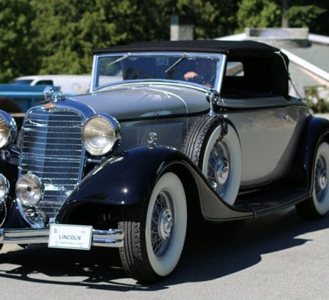 1933 Lincoln KA Coupe Convertible