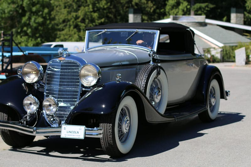 1922 Lincoln KA Coupe Convertible