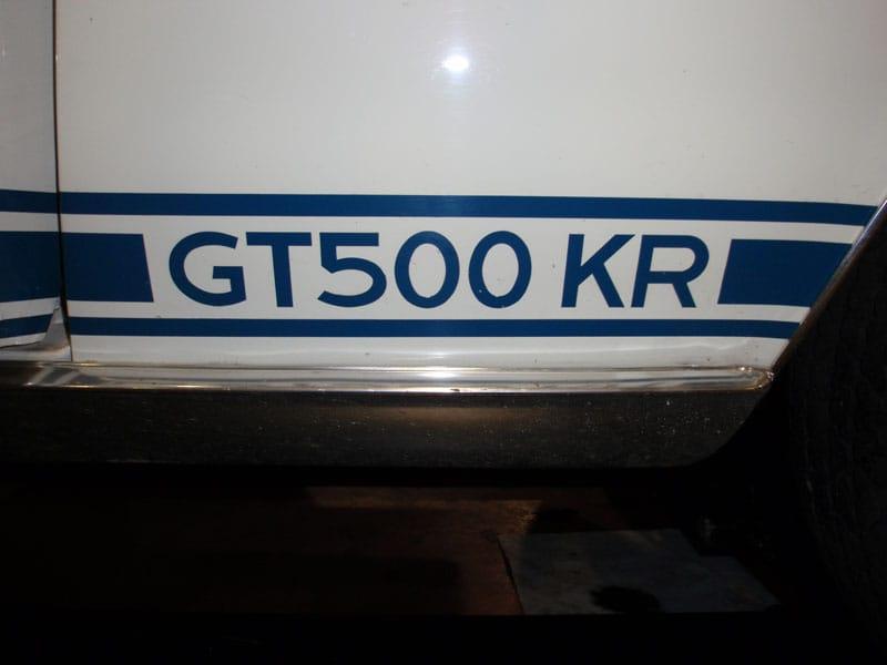 GT500 KR