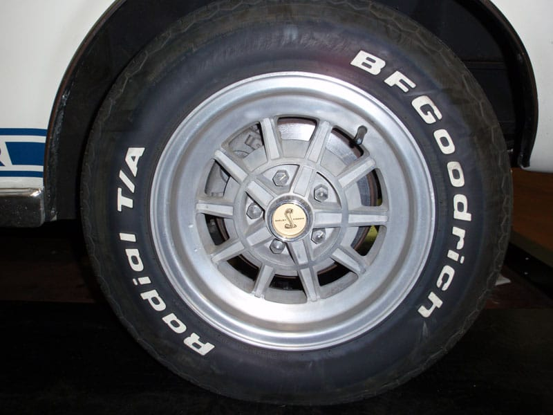 BF Goodrich Rapid T/A tire
