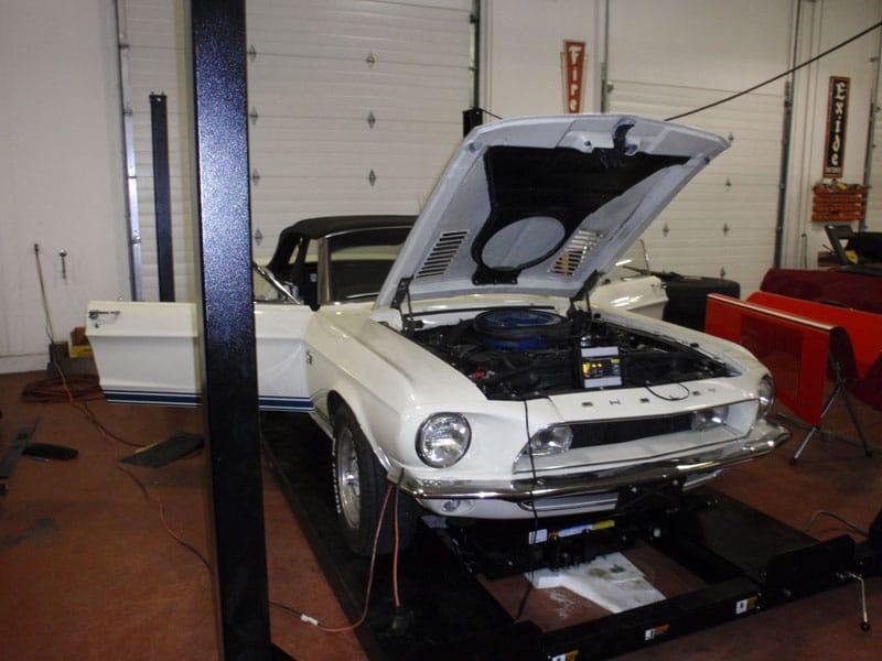 Classic car restoration project