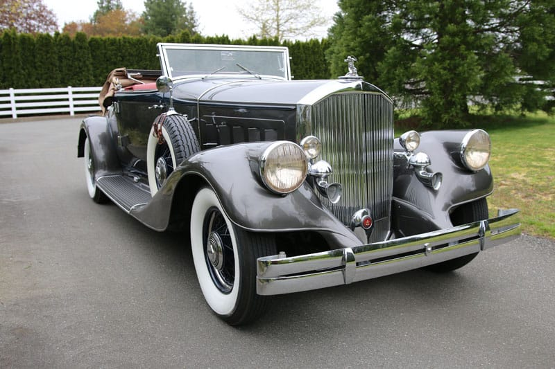 1933 Pierce Arrow V12