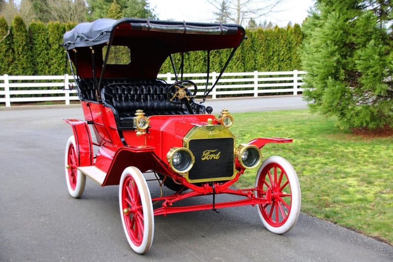 Vintage Ford automobile